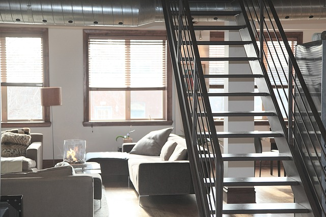 image of apartment with loft conversion